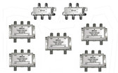 Pixel Technologies 20-way splitter system kit for satellite radio commercial services