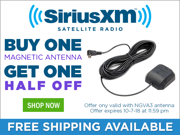 Buy one NGVA3 magnetic antenna, get one half off